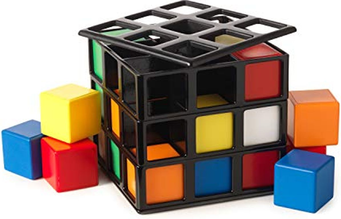 Rubik's Cage components