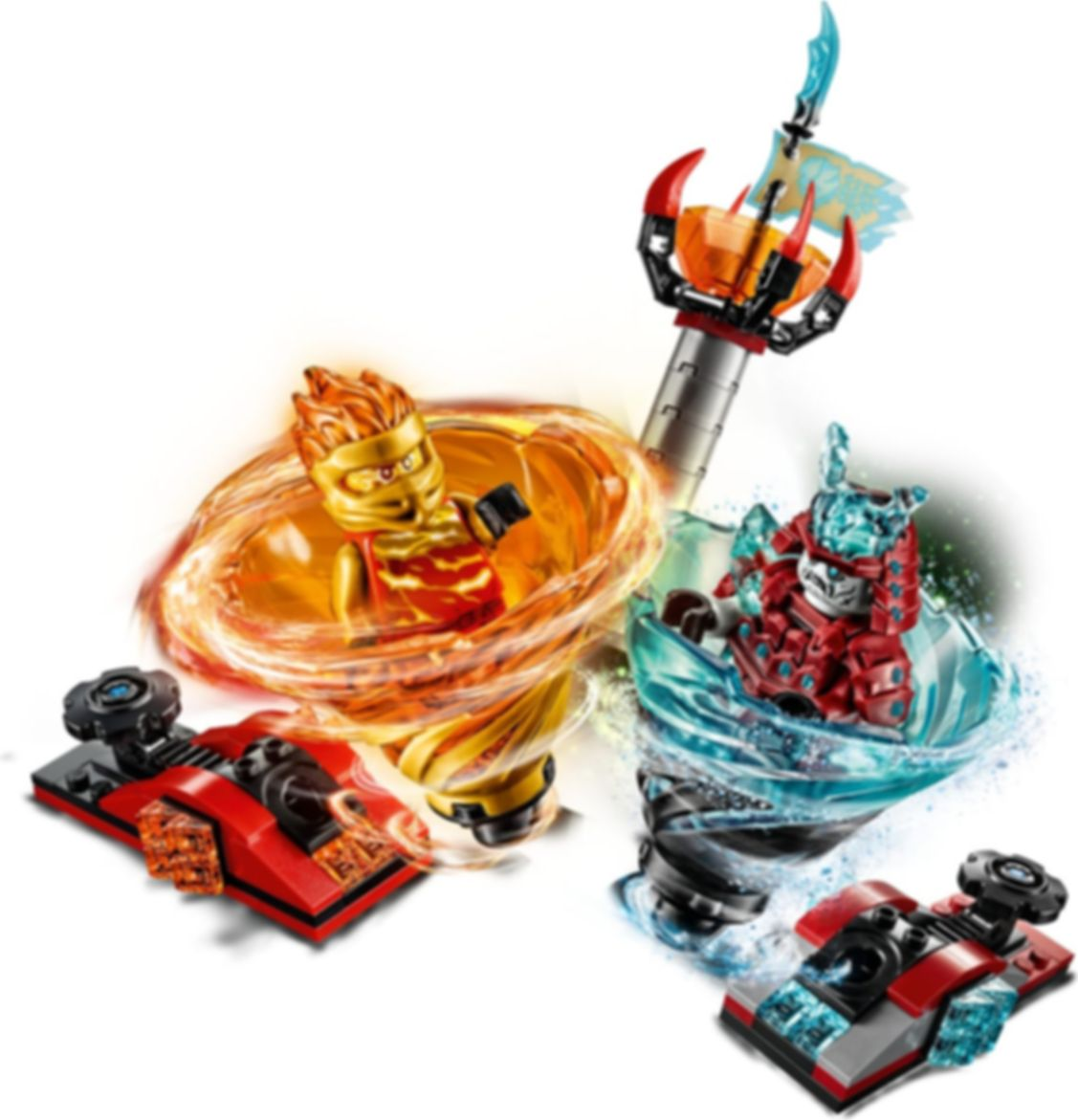 LEGO® Ninjago Spinjitzu Slam - Kai vs. Samurai gameplay