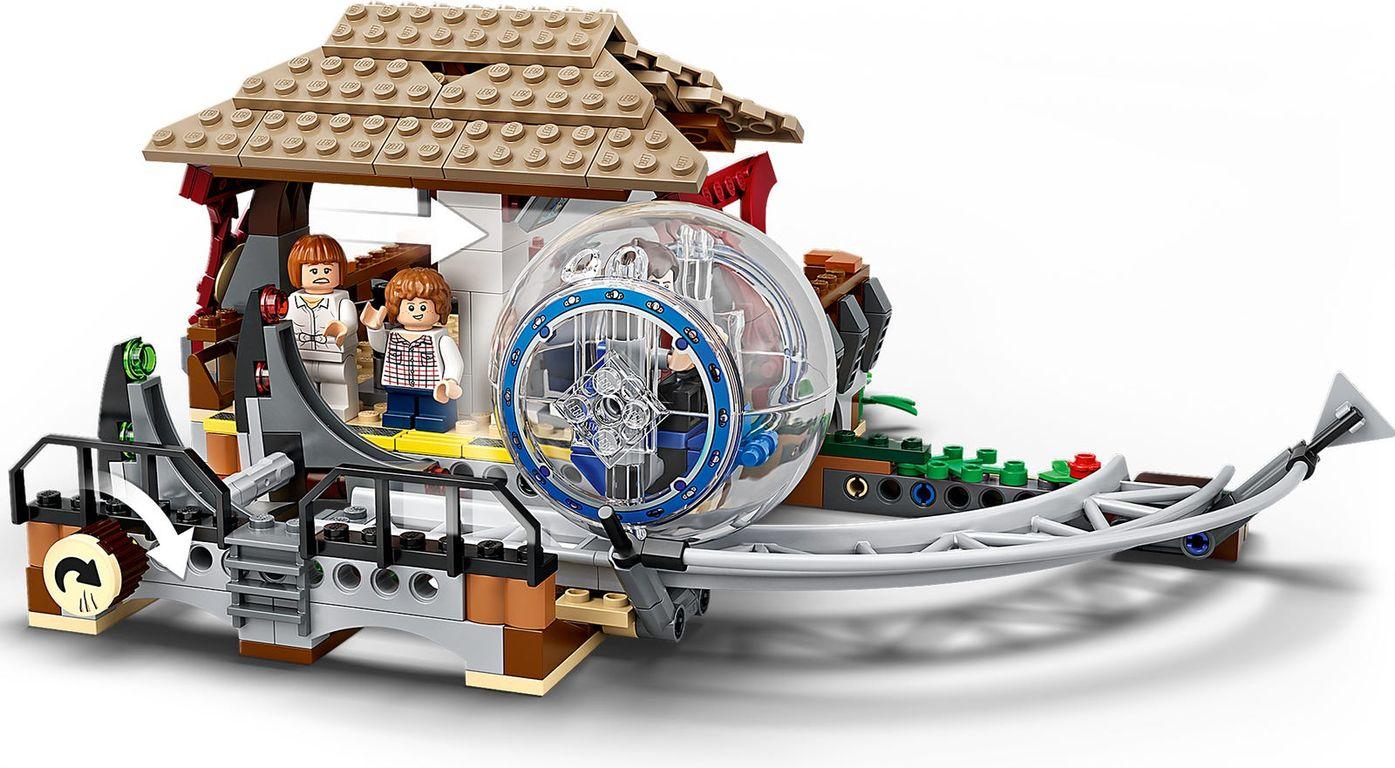 LEGO® Jurassic World Indominus Rex vs. Ankylosaurus components