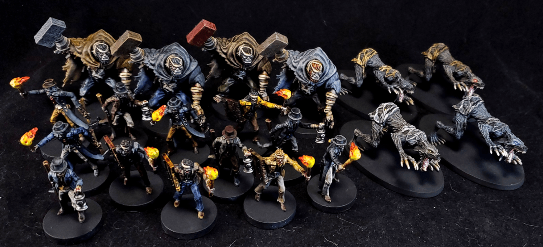 Bloodborne: The Board Game miniatures