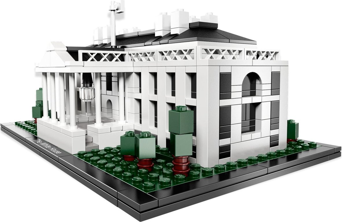 LEGO® Architecture The White House components