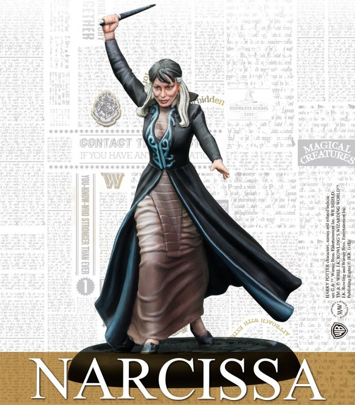 Harry Potter Miniatures Adventure Game: Malfoy Family Expansion Narcissa miniature