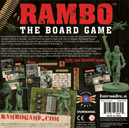 Rambo: The Board Game back of the box