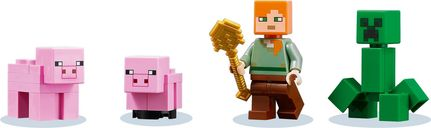 The Pig House minifigures