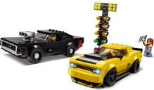 LEGO® Speed Champions 2018 Dodge Challenger SRT Demon en 1970 Dodge Charger R/T gameplay