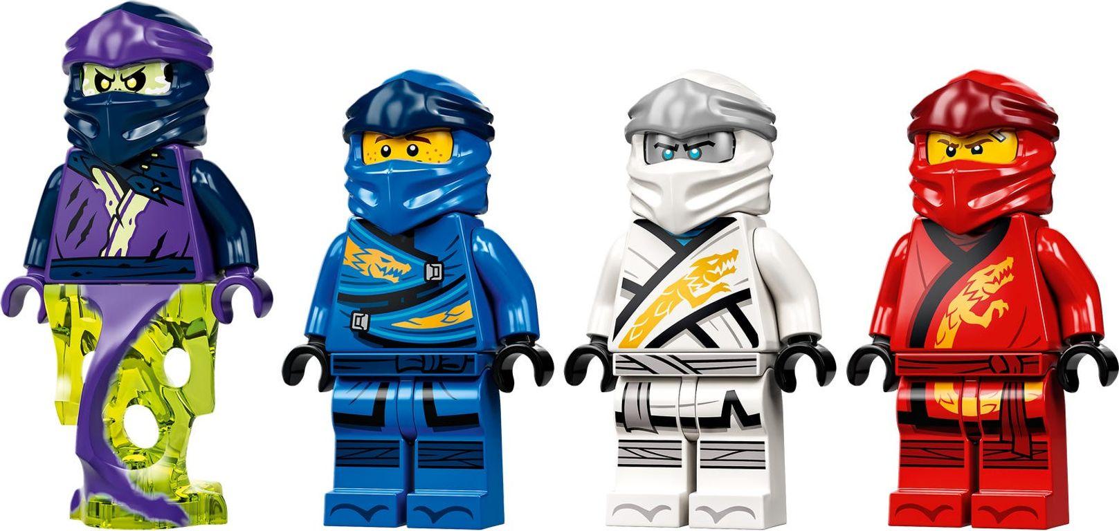 LEGO® Ninjago Final Flight of Destiny's Bounty minifigures