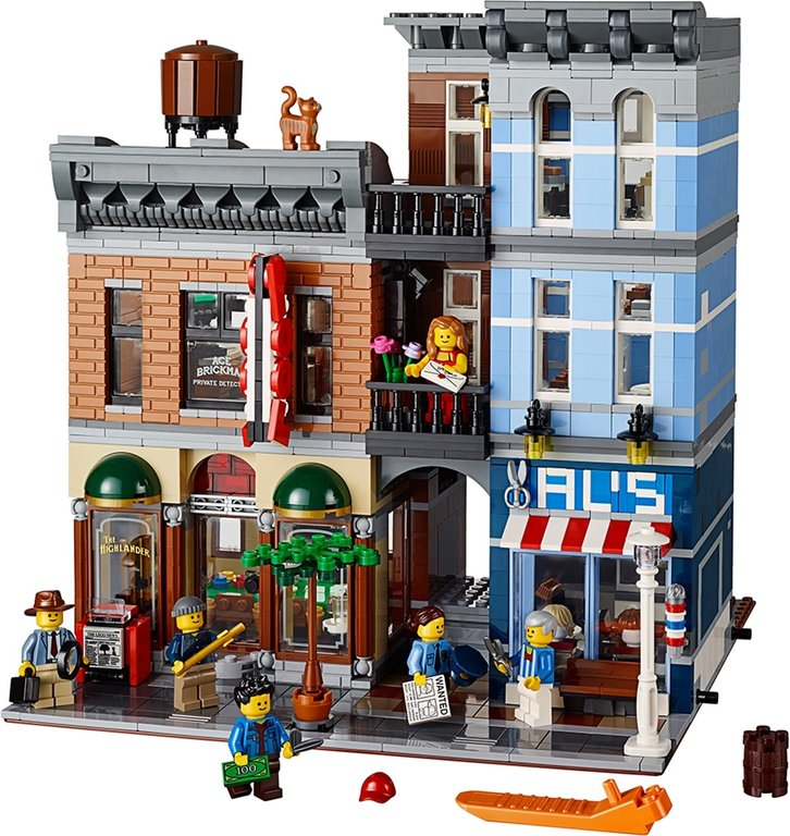 LEGO® Creator Expert Detective's Office components