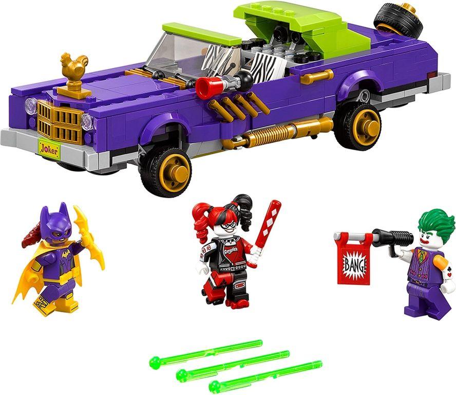LEGO® Batman Movie The Joker™ Notorious Lowrider components