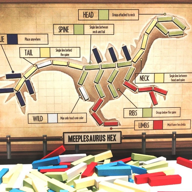 The Great Dinosaur Rush components