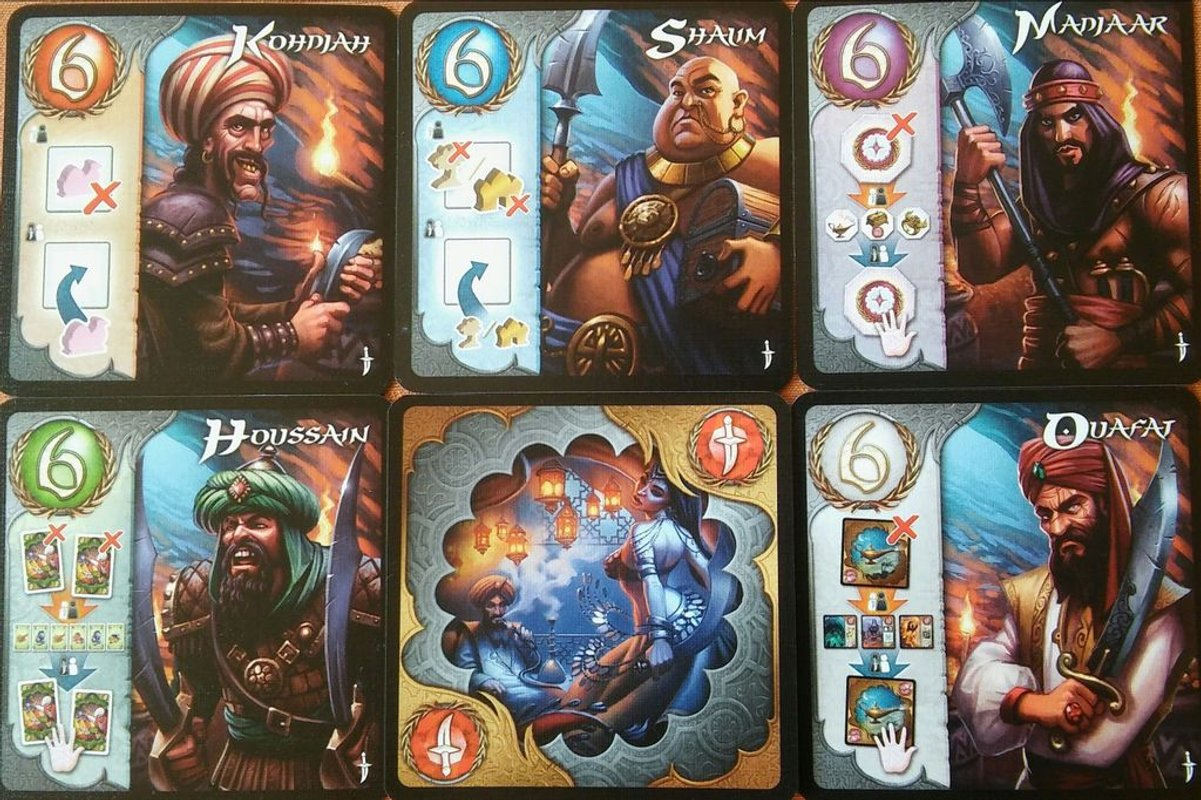 Five Tribes: The Thieves of Naqala cards