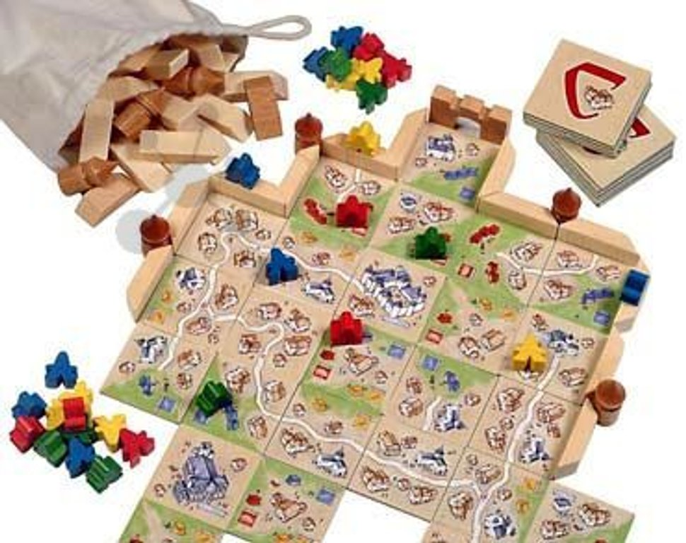 Carcassonne: The City gameplay