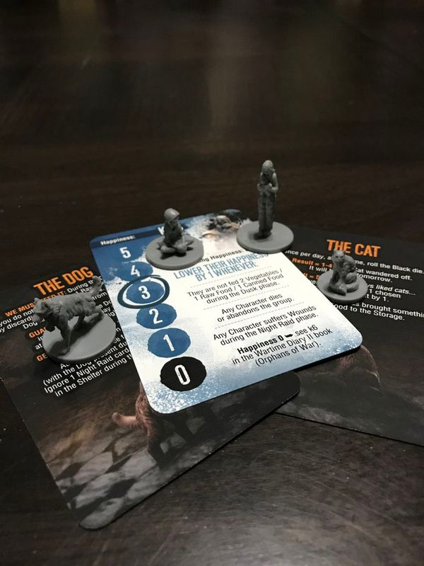 This War of Mine: Days of the Siege components