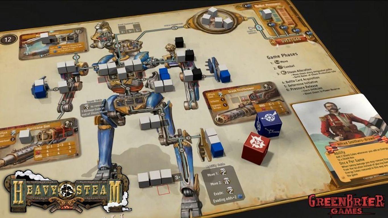 Heavy Steam gameplay