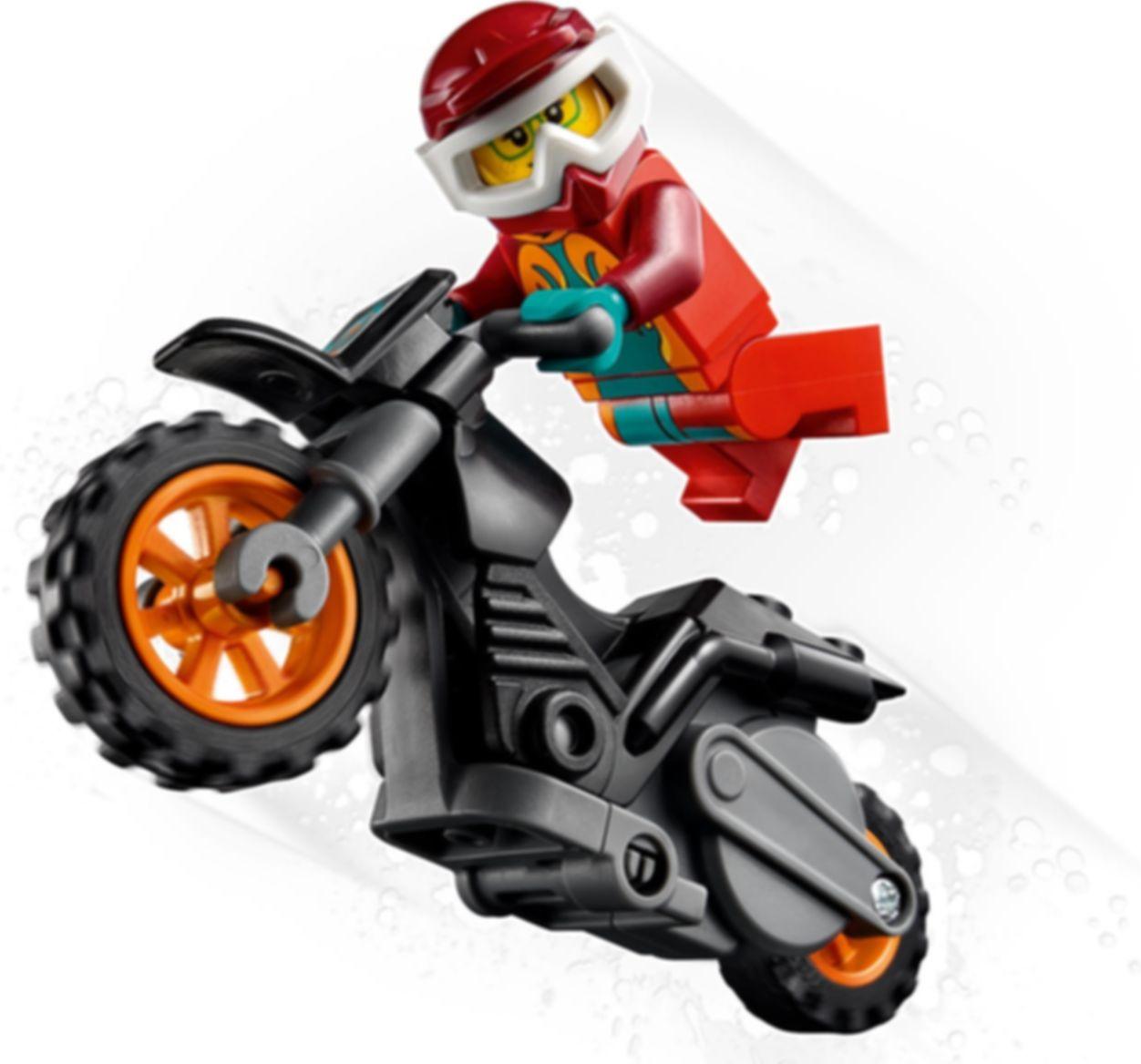 LEGO® City Fire Stunt Bike gameplay