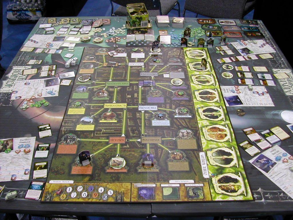 Arkham Horror gameplay