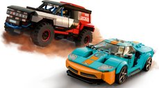 LEGO® Speed Champions Ford GT Heritage Edition and Bronco R gameplay