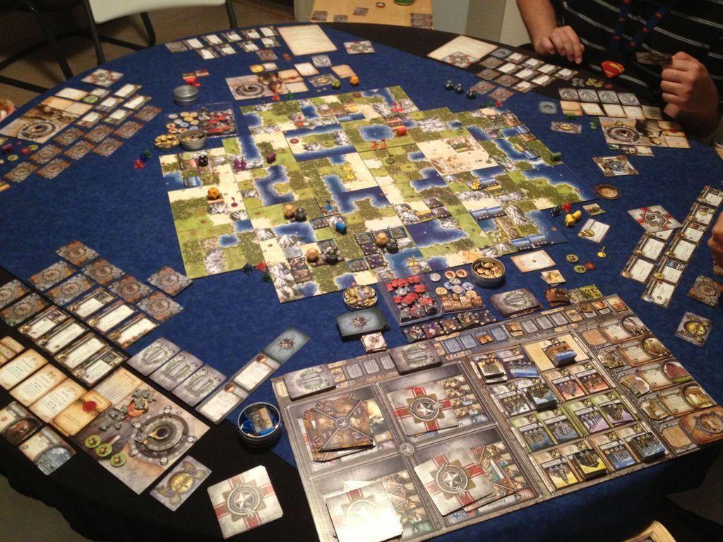Sid Meier's Civilization: The Board Game - Wisdom and Warfare gameplay