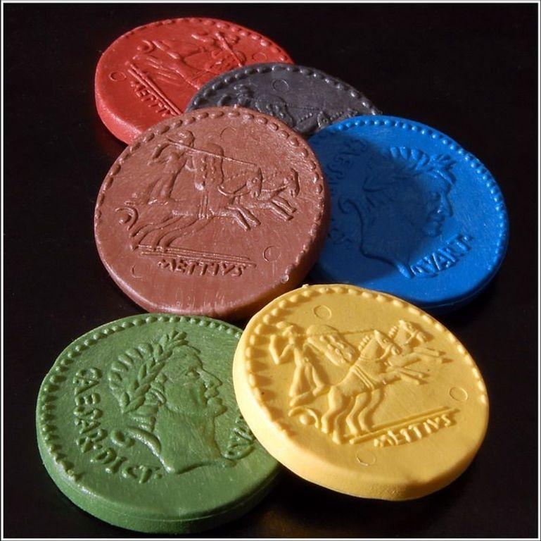 Ave Caesar coins