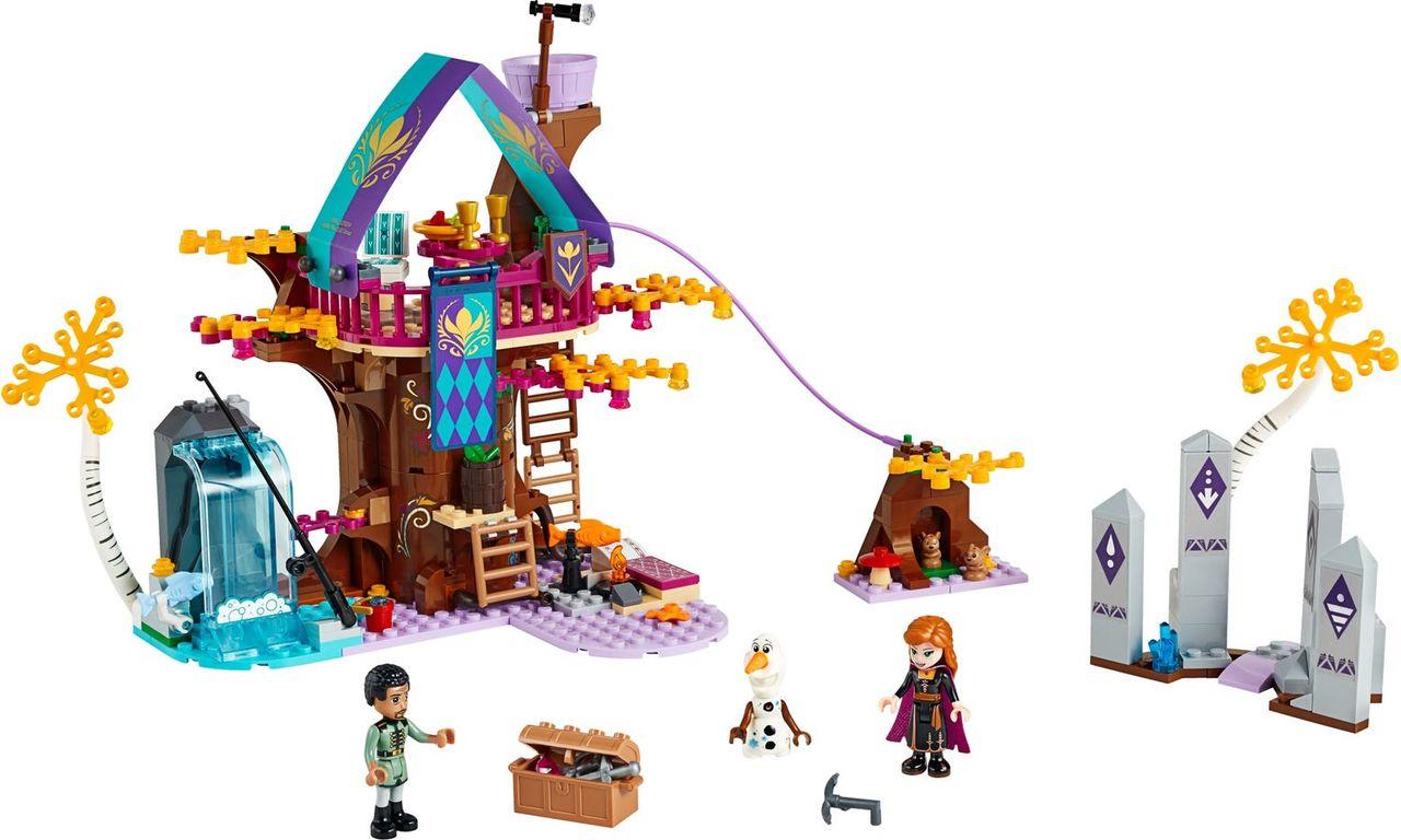 LEGO® Disney Enchanted Treehouse components