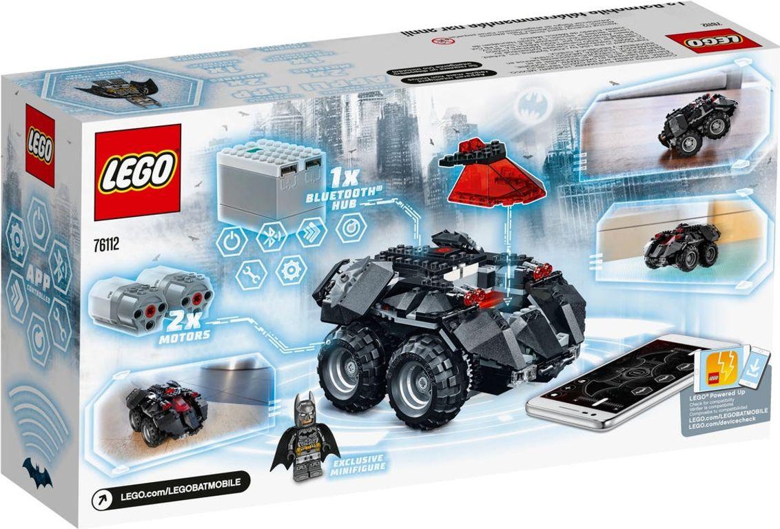 LEGO® DC Superheroes App-Controlled Batmobile back of the box