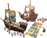 Stratego Pirates! components