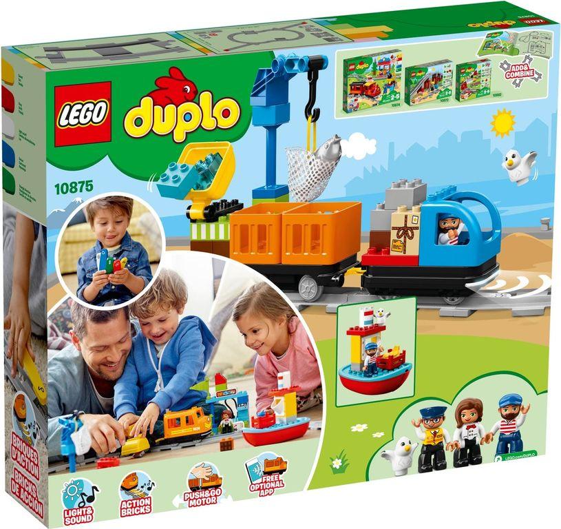 LEGO® DUPLO® Cargo Train back of the box