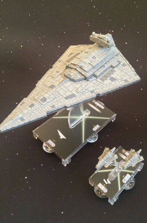 Star Wars: Armada - Imperial Assault Carriers Expansion Pack miniatures