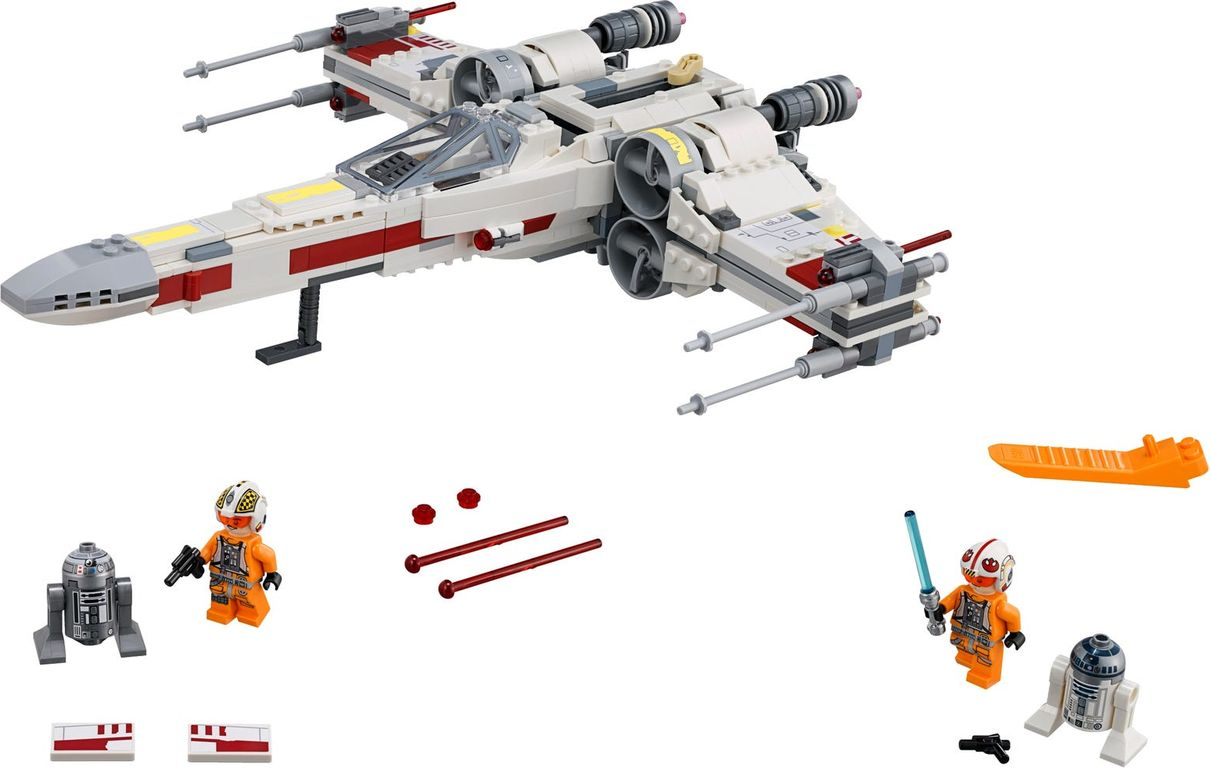 LEGO® Star Wars X-Wing Starfighter™ components
