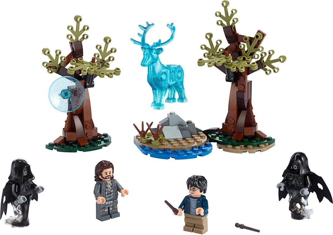 LEGO® Harry Potter™ Expecto Patronum components