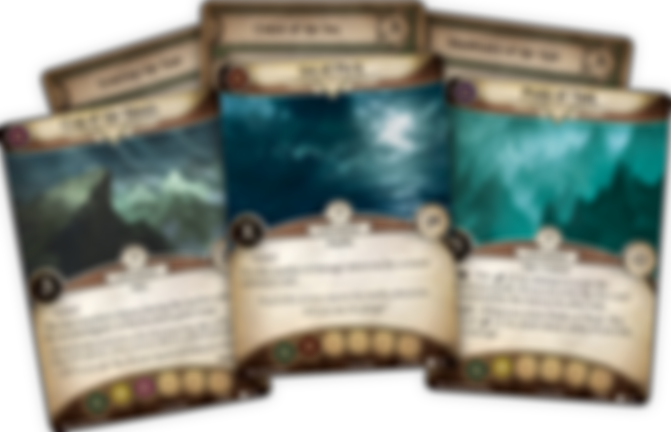 Arkham Horror: The Card Game - Point of No Return: Mythos Pack cards