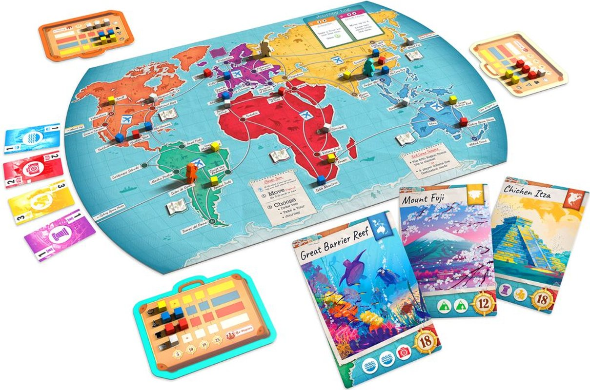 Trekking the World components