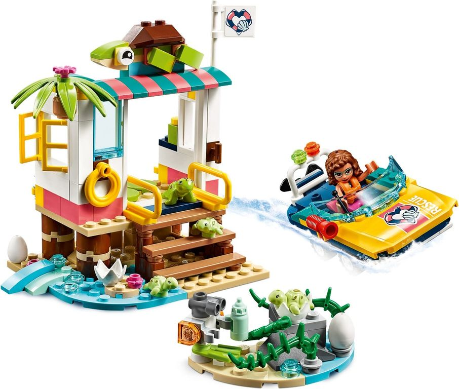 LEGO® Friends Turtles Rescue Mission gameplay