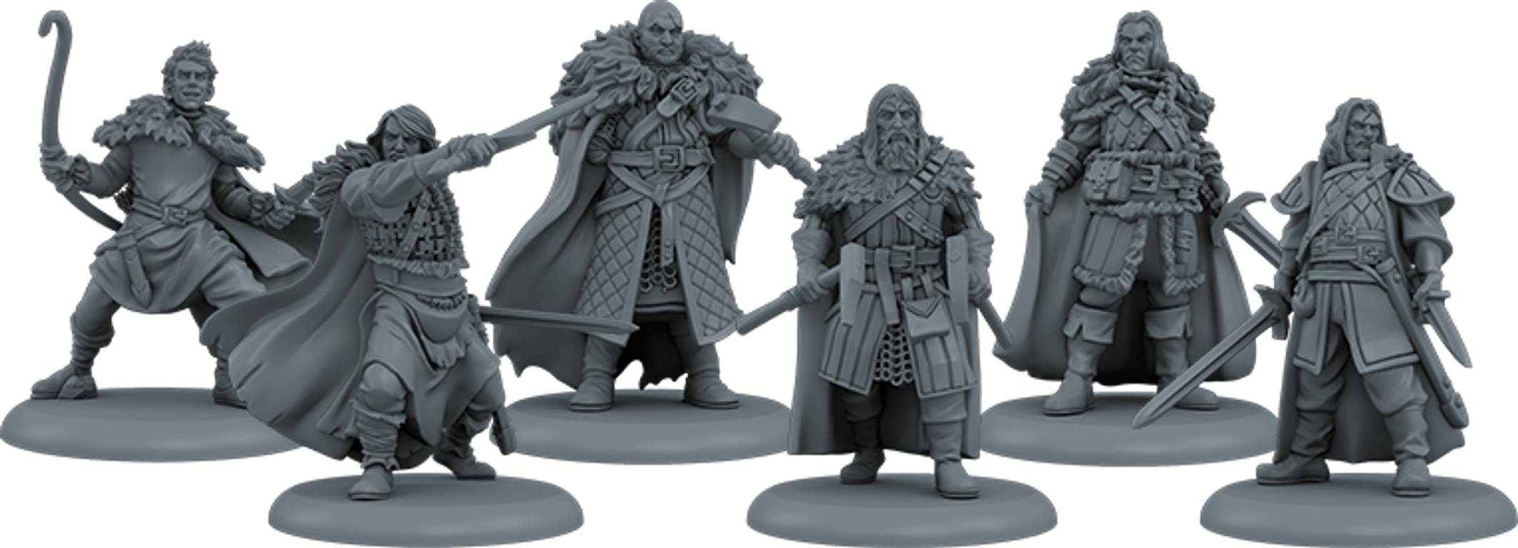 A Song of Ice & Fire: Tabletop Miniatures Game – Night's Watch Heroes I miniatures