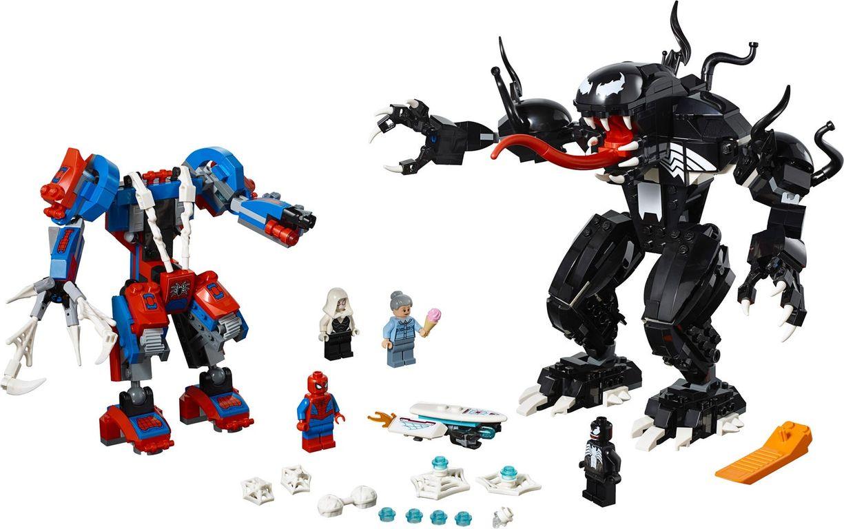 Spider Mech vs. Venom components