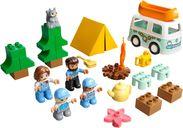 LEGO® DUPLO® Family Camping Van Adventure components