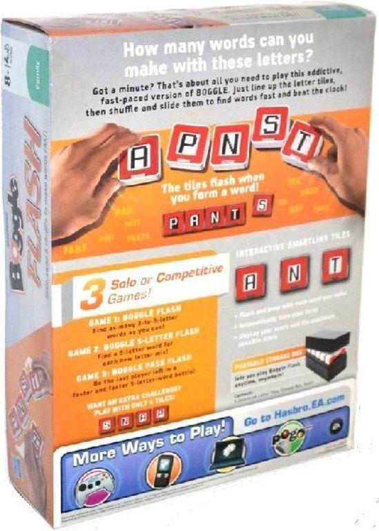 Scrabble Flash back of the box