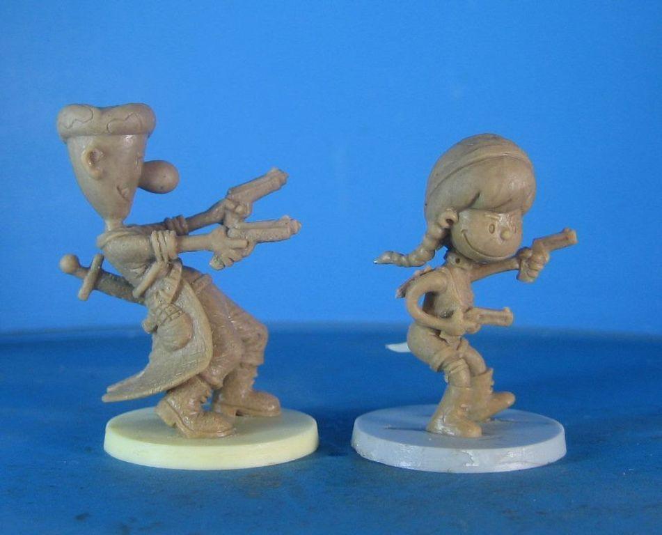 Zombicide Special Guest Box: John Kovalic miniatures