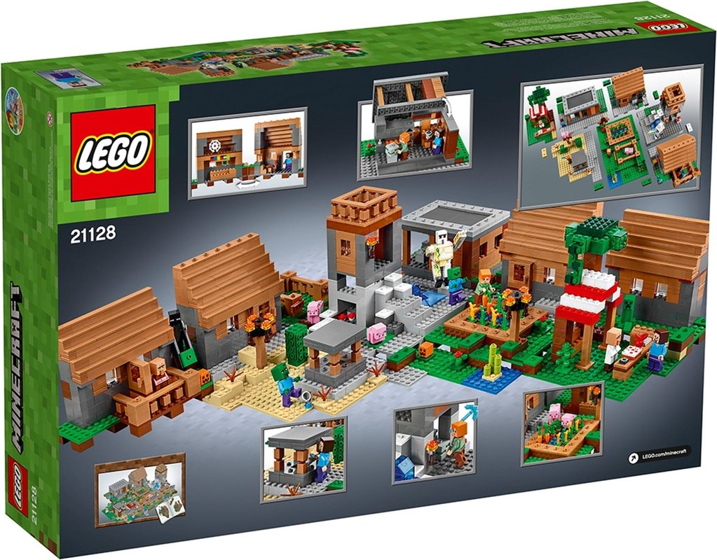 The Village back of the box