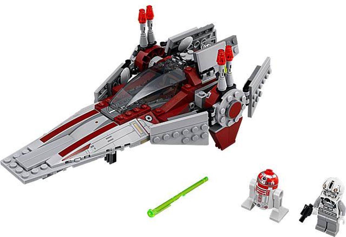 LEGO® Star Wars V-Wing Starfighter components