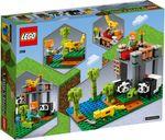 LEGO® Minecraft The Panda Kindergarten back of the box