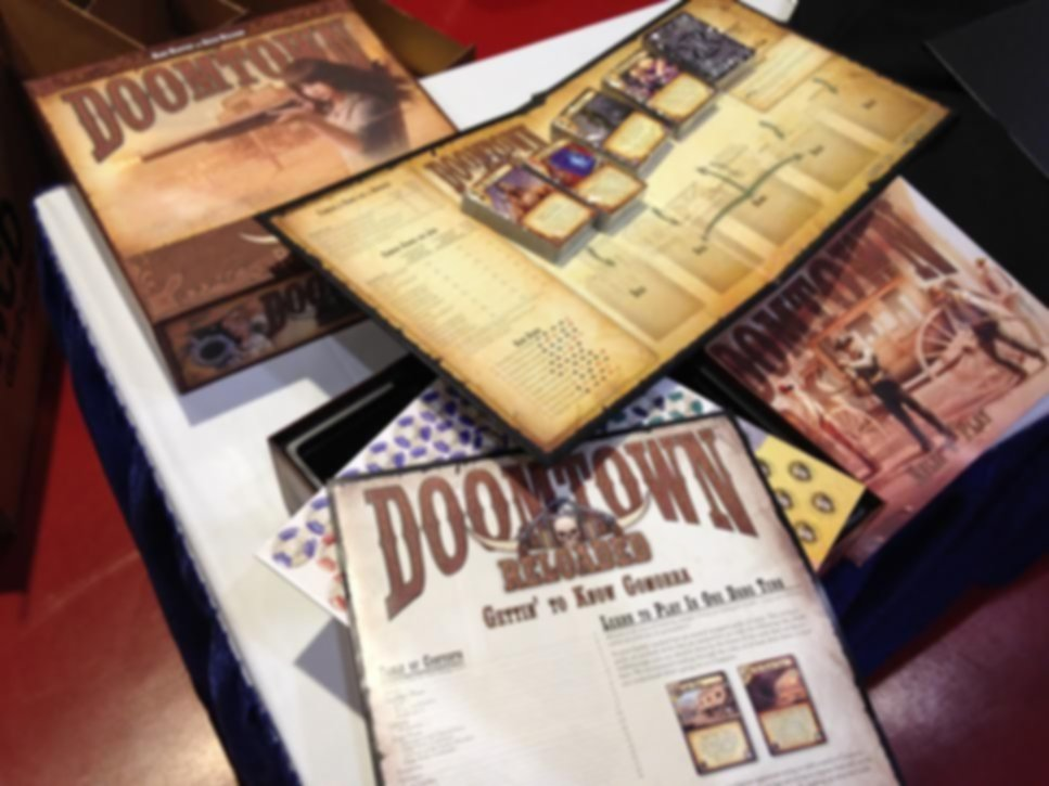 Doomtown: Reloaded components
