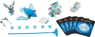 LEGO® Legends of Chima Frozen Spikes components