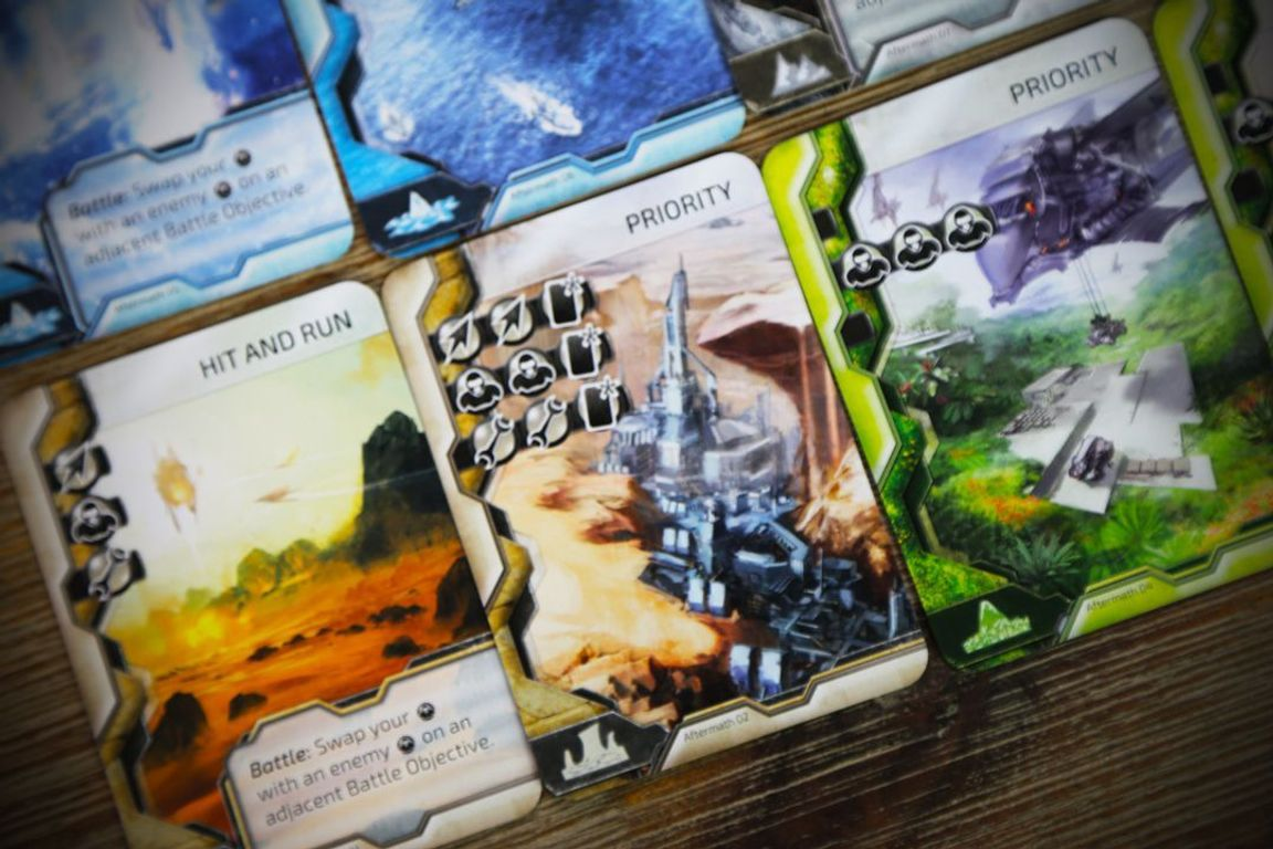 Cry Havoc: Aftermath cards