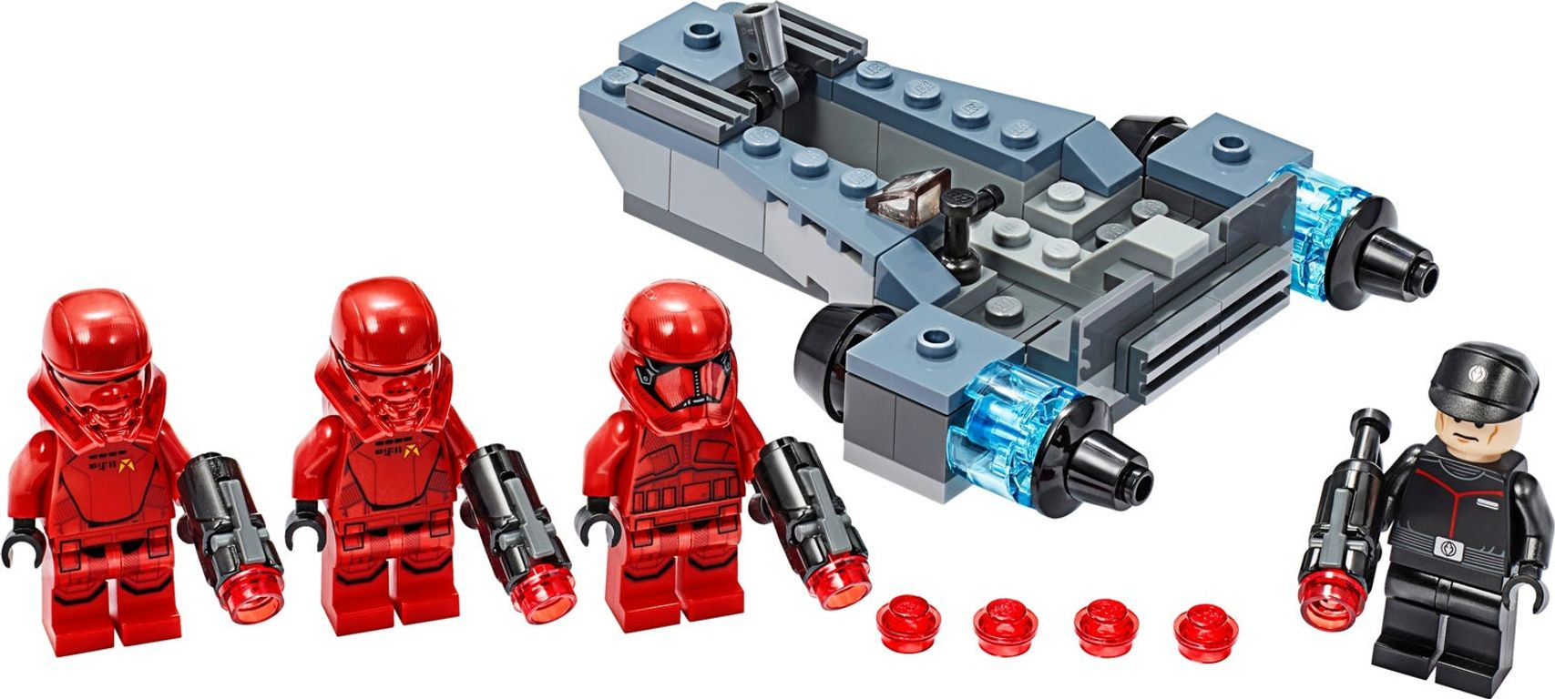 LEGO® Star Wars Sith Troopers™ Battle Pack components