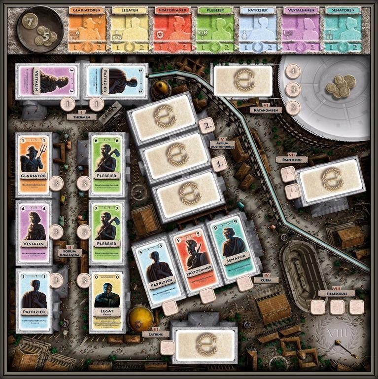 Tribune: Primus Inter Pares game board