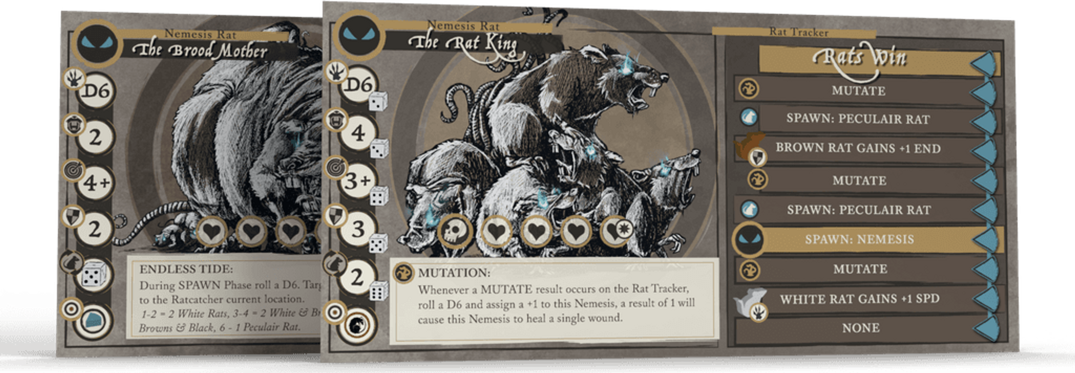 The Ratcatcher: The Solo Adventure Game cards