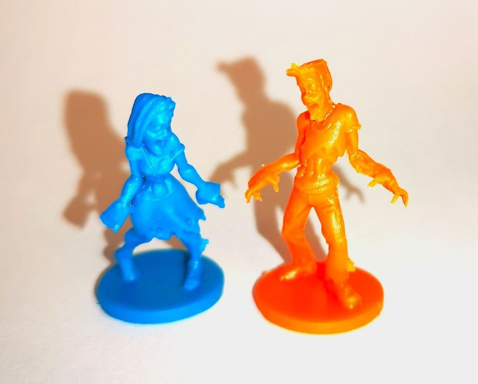 Run Fight or Die: Reloaded miniatures