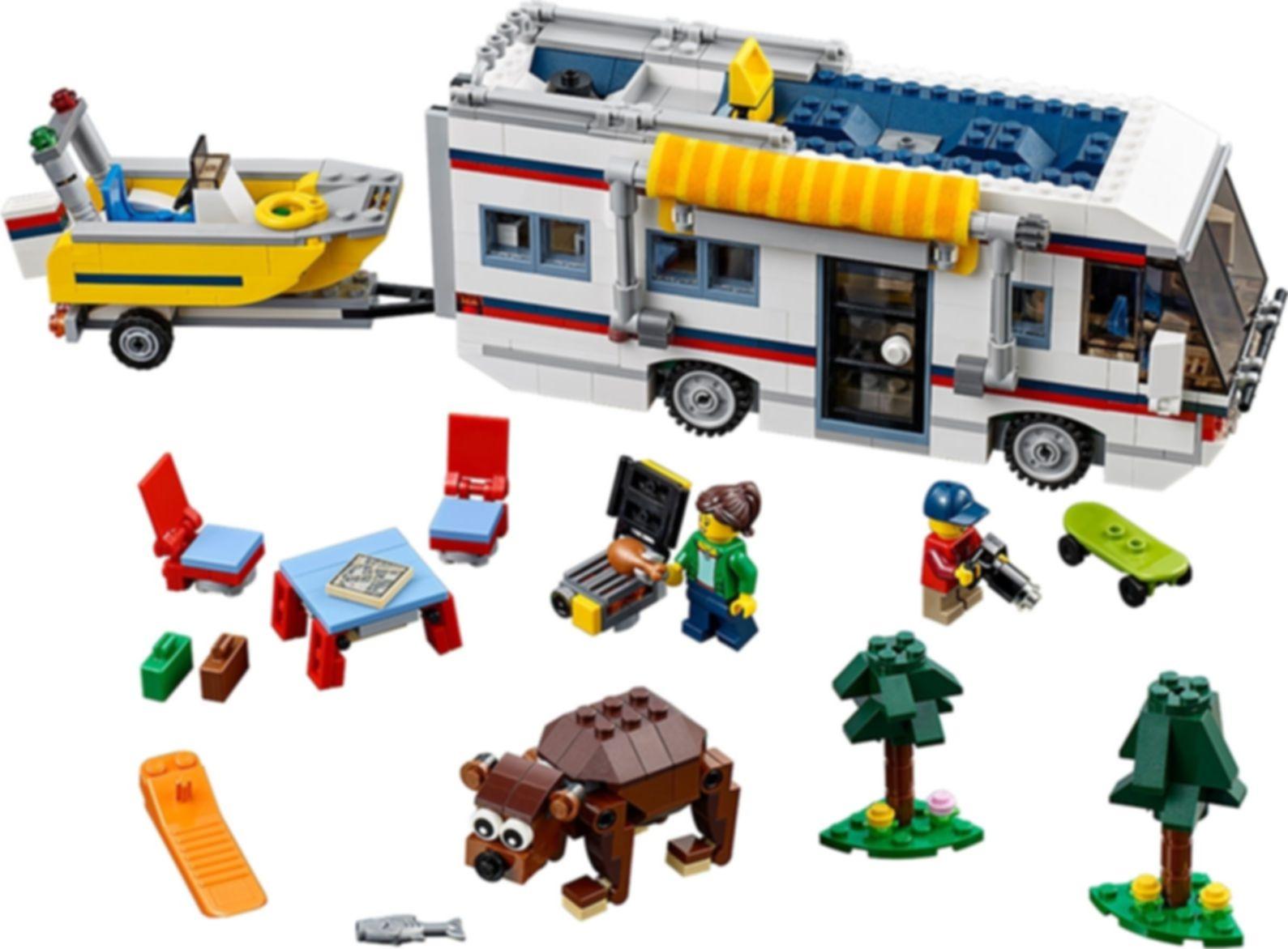 LEGO® Creator Vacation Getaways components