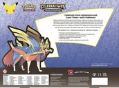 Pokémon TCG: Celebrations Deluxe Pin Collection back of the box