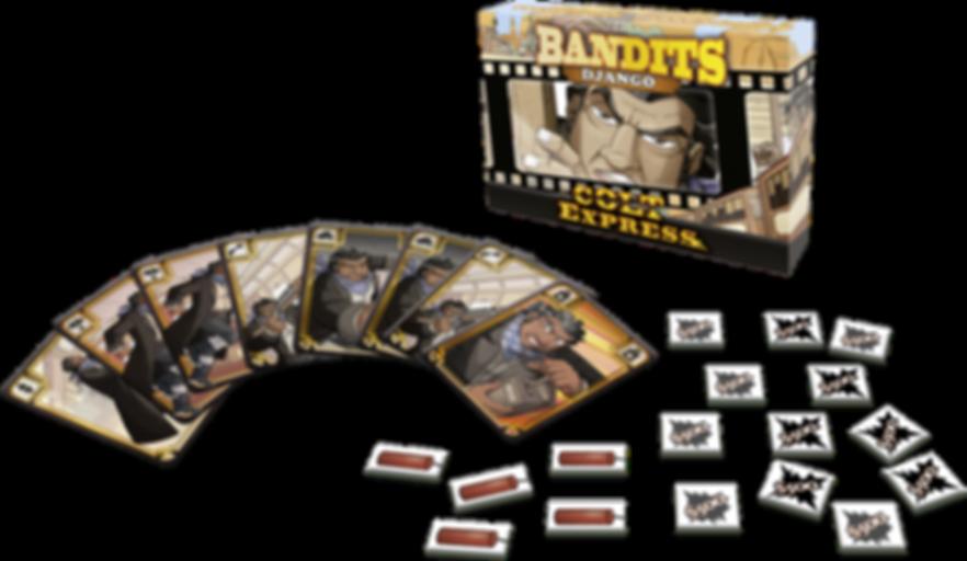 Colt Express: Bandits – Django components